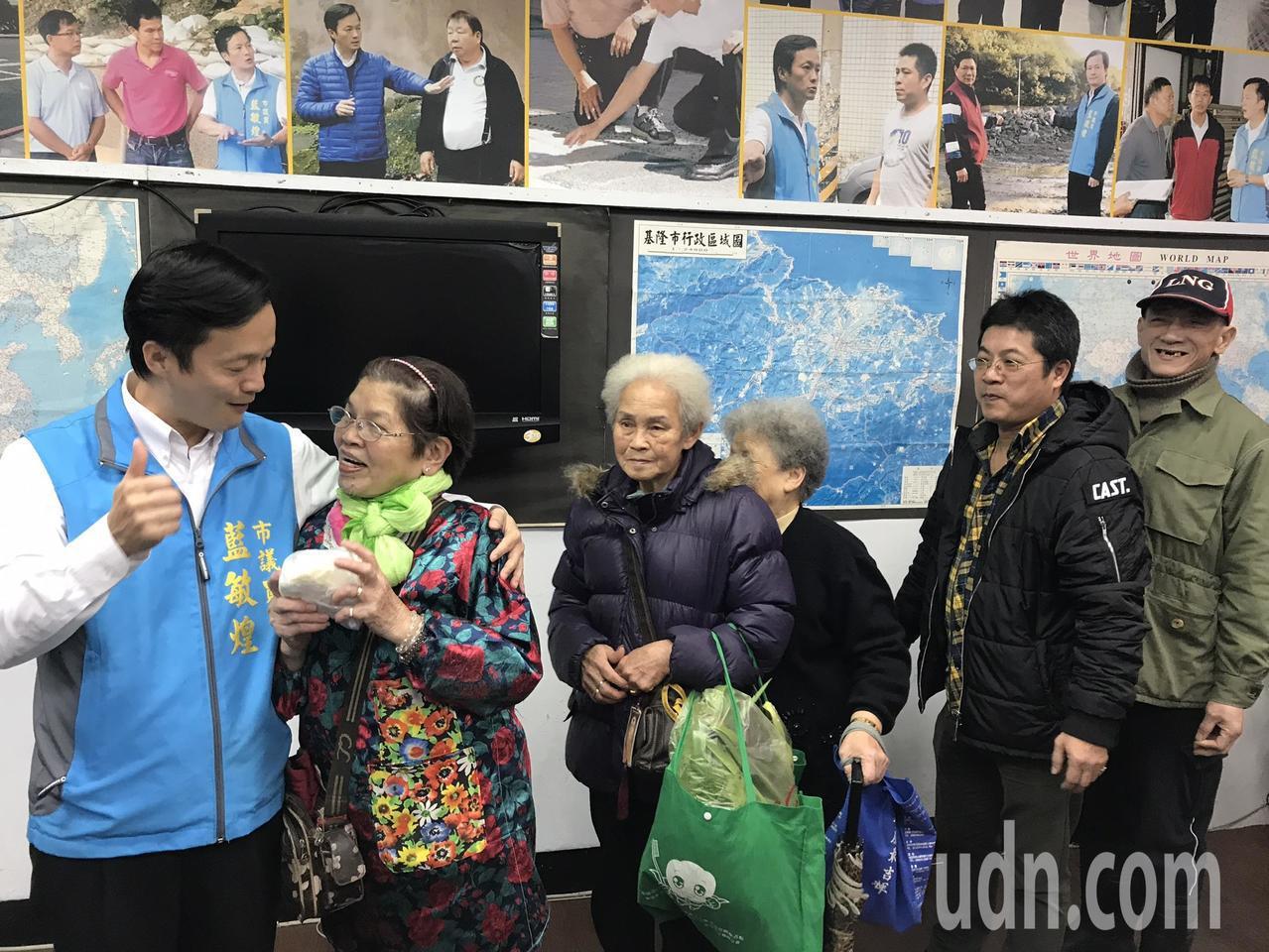 高雄市長韓國瑜被諷土包子議題延燒,爭取國民黨立委黨內初選的基隆市議員藍敏煌,今天...