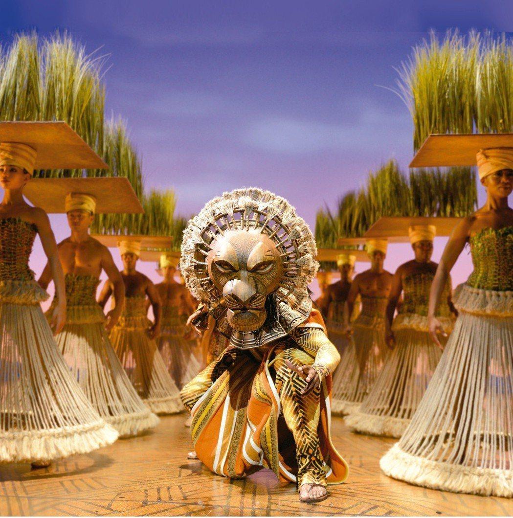 百老匯音樂劇 「獅子王」7月將在台北小巨蛋演出。圖/寬宏藝術提供