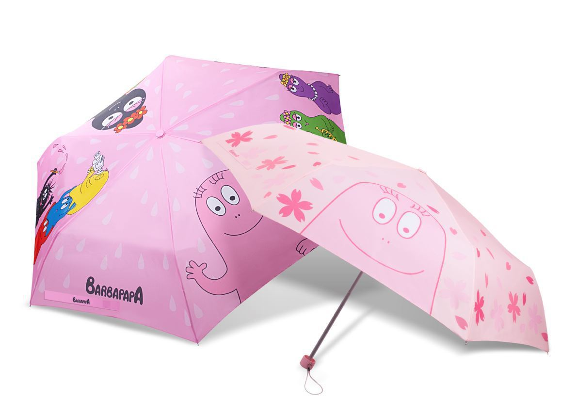 全家便利商店推出的泡泡先生摺疊傘共有兩款,可用會員點數400點加價239元或2,...