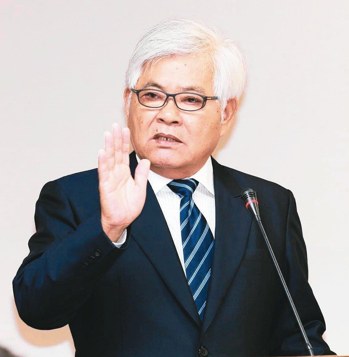 中選會主委提名人李進勇。 圖/聯合報系資料照