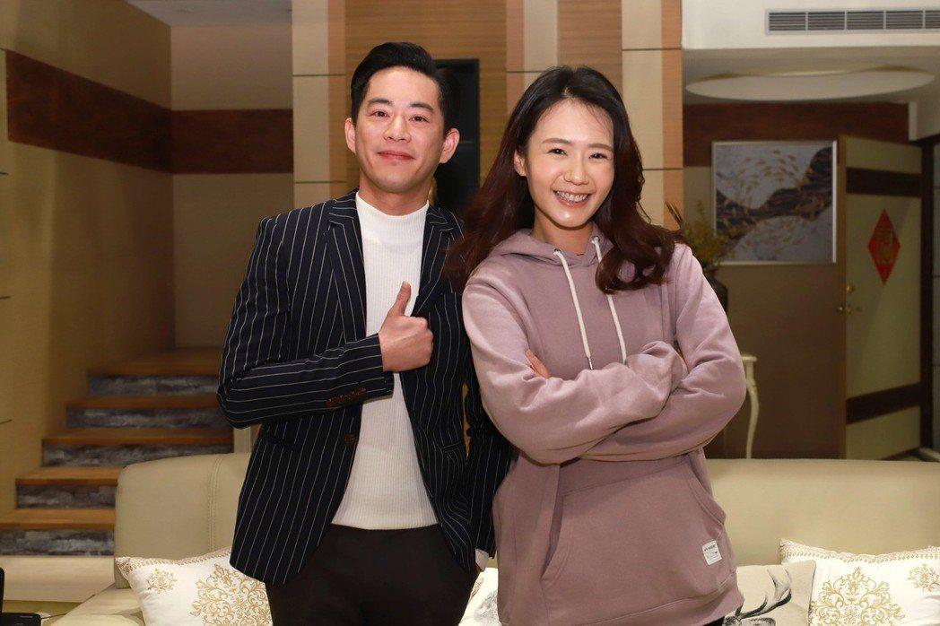 Junior韓宜邦過生日,戲裡「老婆」李又汝送上滴雞精補身。圖/民視提供