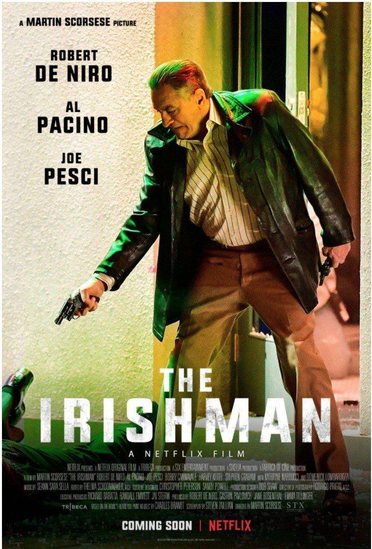 「愛爾蘭人」是Netflix搶攻明年奧斯卡的超強攻勢。圖/摘自JOE.ie