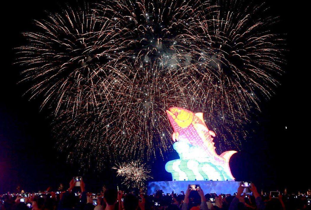 今年的台灣燈會從主燈跳脫生肖設計開始就引發話題。 記者劉學聖/攝影