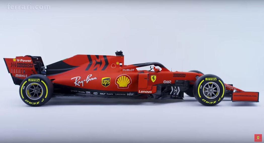 Scuderia Ferrari SF90。 摘自Scuderia Ferrar...