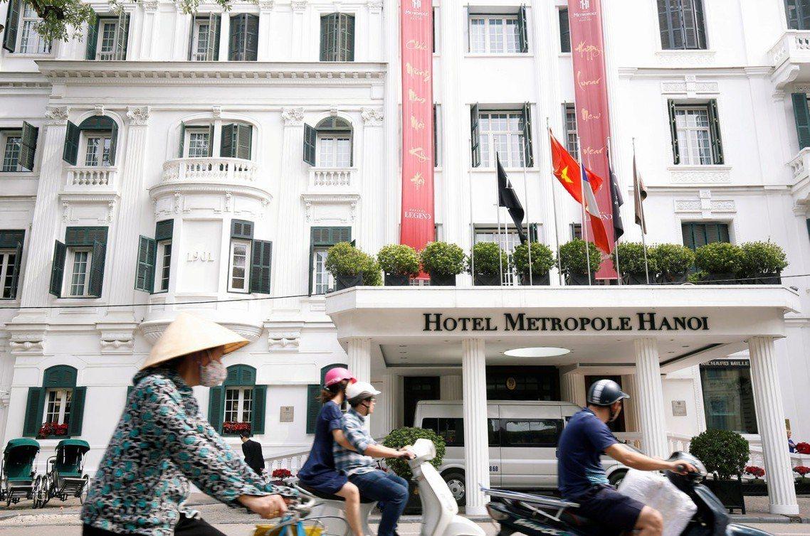 本次高峰會的舞台,由越南安排在老牌的高級酒店「河內索菲特傳奇大都會酒店」(Sof...