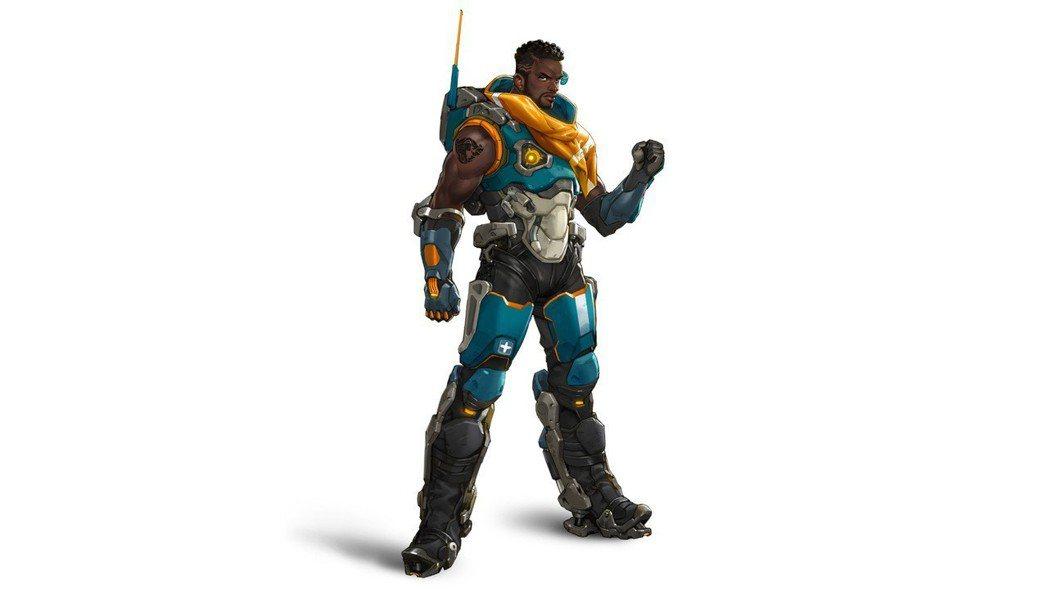 巴帝斯特的腿部裝備賦予他極佳的彈跳力。