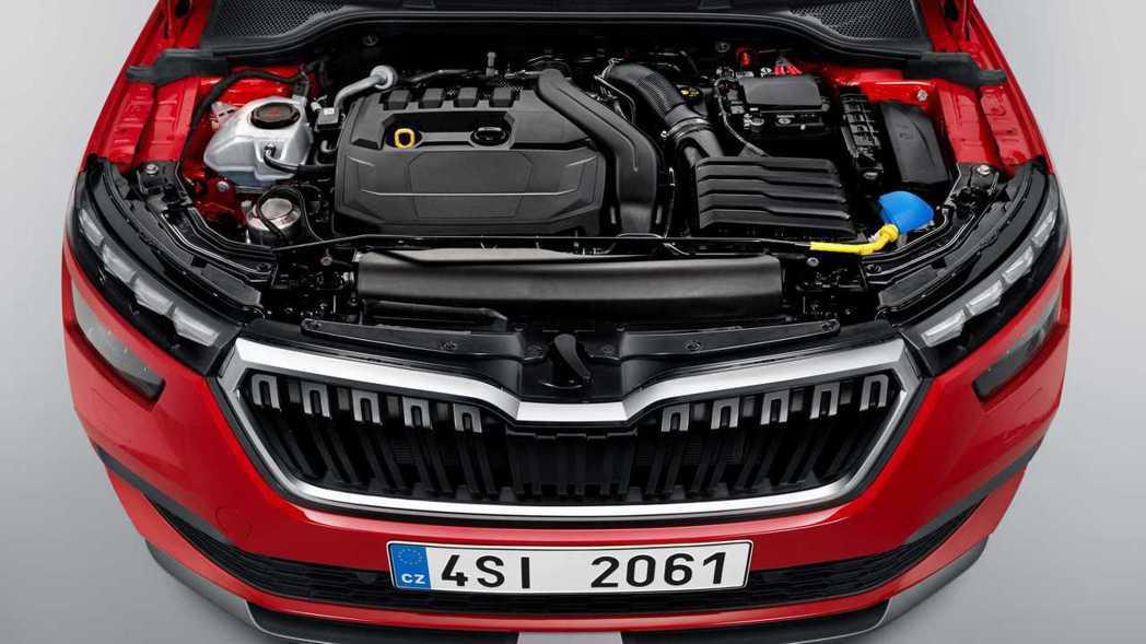 ŠKODA Kamiq的引擎動力配置亦與Scala相同,共有五種動力選擇,包括1.0 TSI、1.5 TSI、1.6 TDI與1.0 G-TEC CNG天然氣動力。 摘自ŠKODA