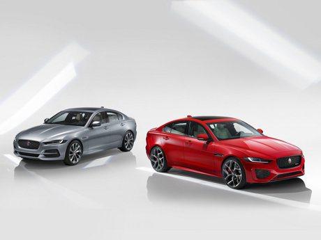 內外皆驚艷!Jaguar XE小改款官方照片釋出 內裝更顯科技化