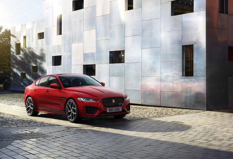 Jaguar XE在同級車款當中評價相當高。 摘自Jaguar