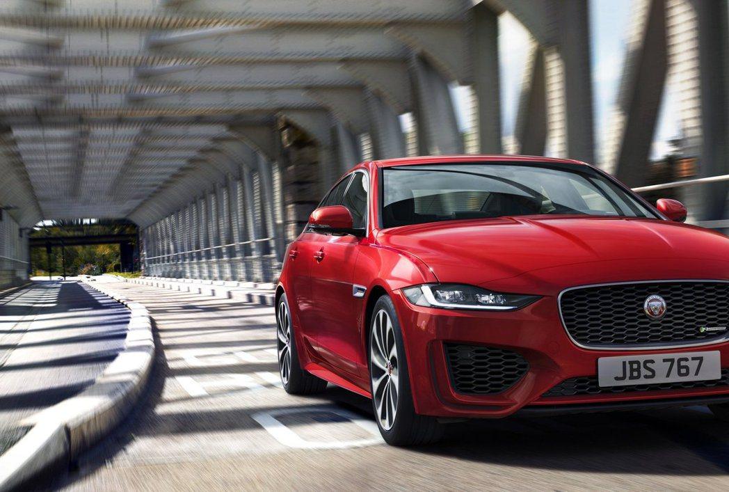 Jaguar XE。 摘自Jaguar