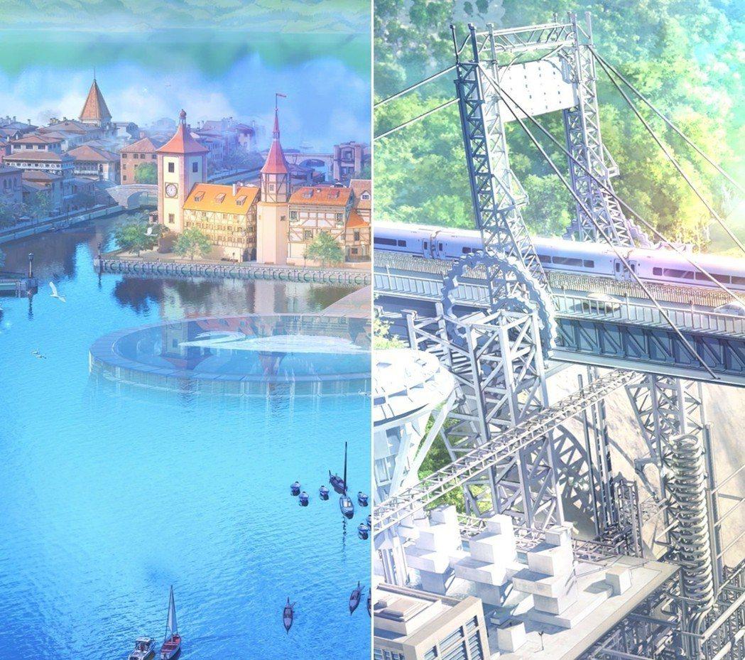 莉莉斯的精神世界/流影大橋。