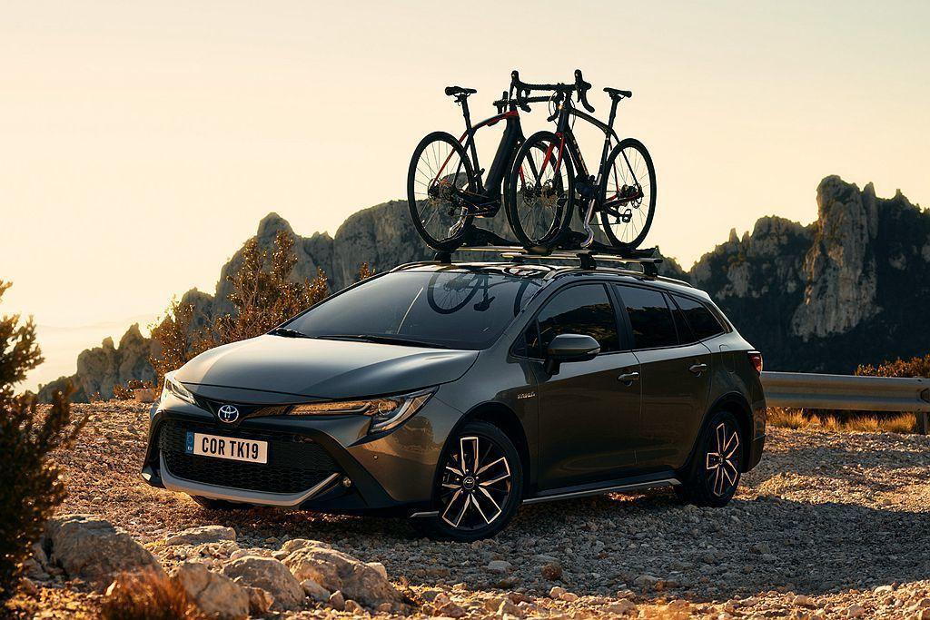 Toyota Corolla TREK是與知名自行車品牌Trek Bicycle...