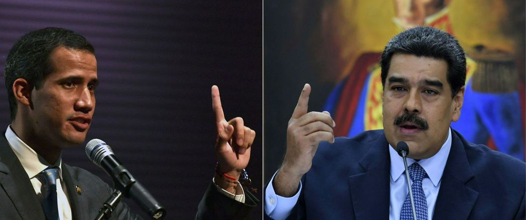 從元月底至今陷入「兩個總統」紛爭:一個是由已故總統查維茲(Hugo Chávez...