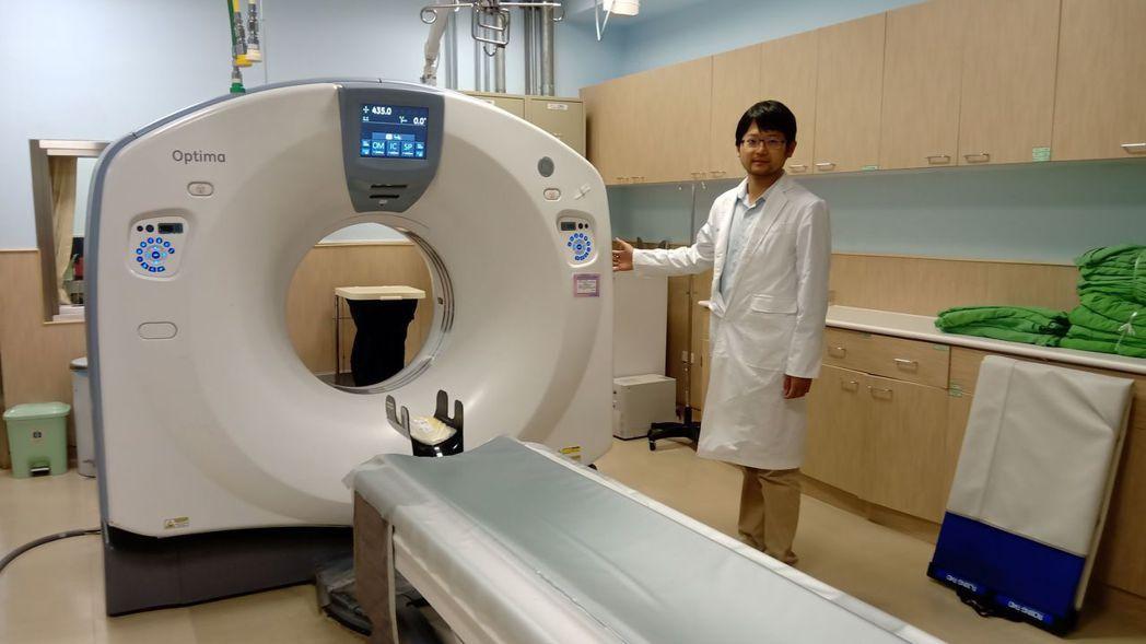 臺南市立安南醫院健檢設備。 圖/醫院提供