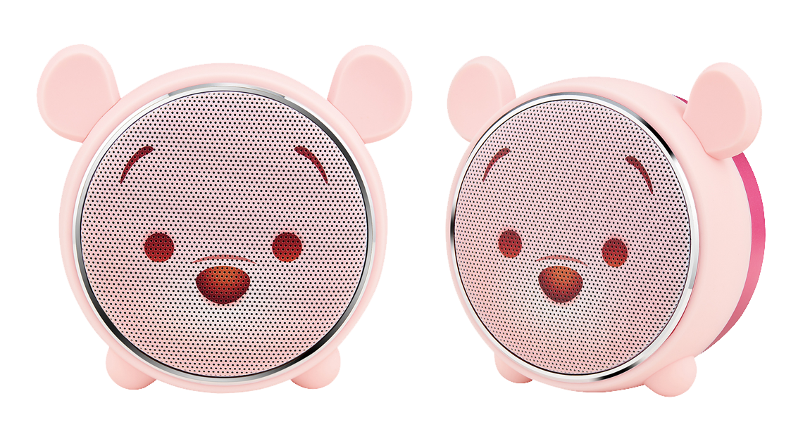 小熊維尼藍牙燈光喇叭櫻花限定版,990元。圖/台灣迪士尼提供