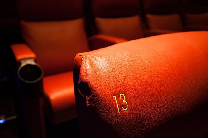 採用法拉利系出同門的全皮革沙發座椅。圖/比漾廣場提供