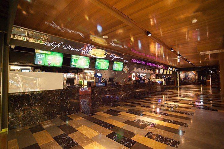 喜樂時代影城永和比漾店餐飲販賣區。圖/比漾廣場提供