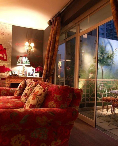 劉嘉玲和梁朝偉位於香港的豪宅。圖/摘自IG