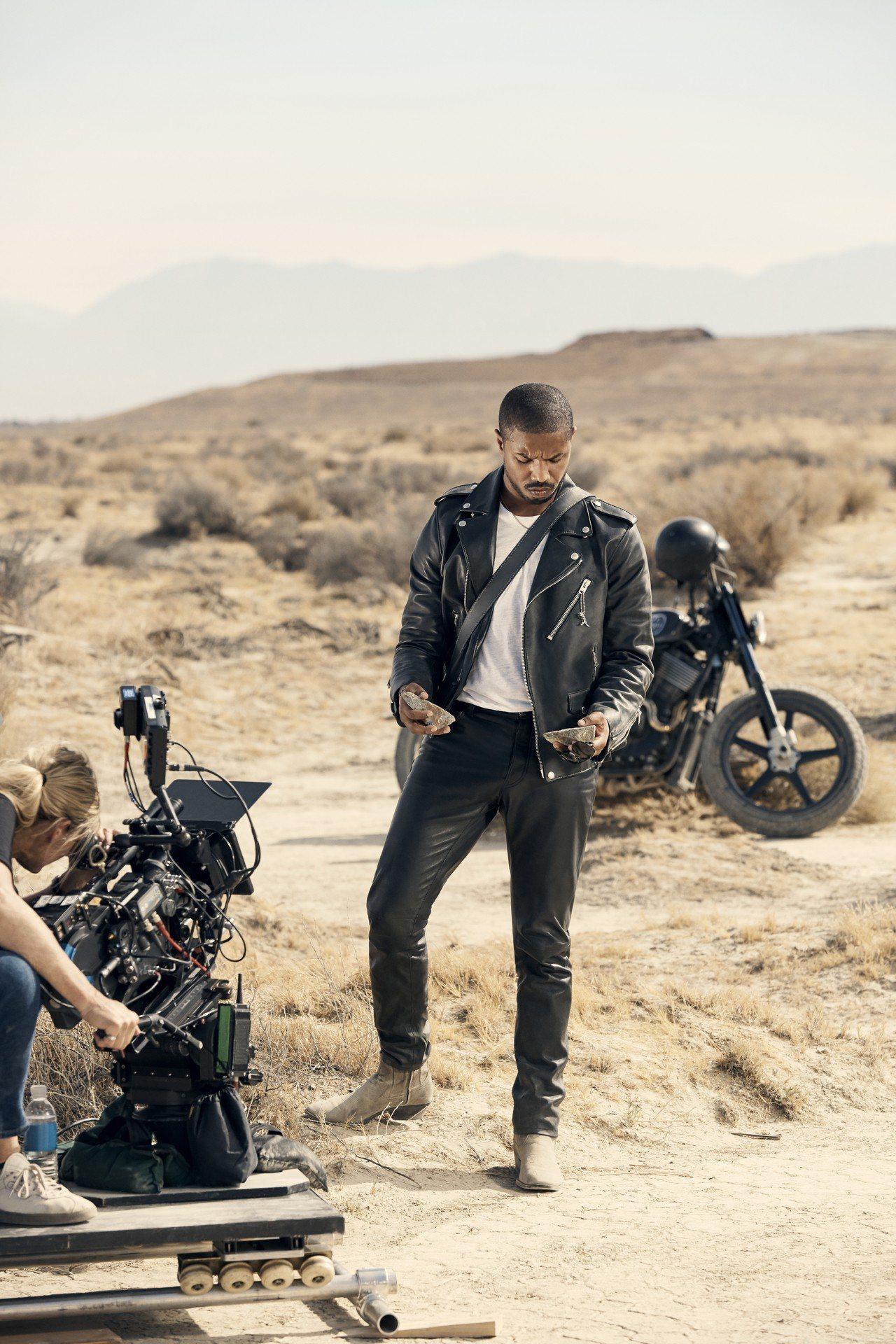 麥可.B.喬丹在COACH的「Words Matter」影片擔綱主演。圖/COA...
