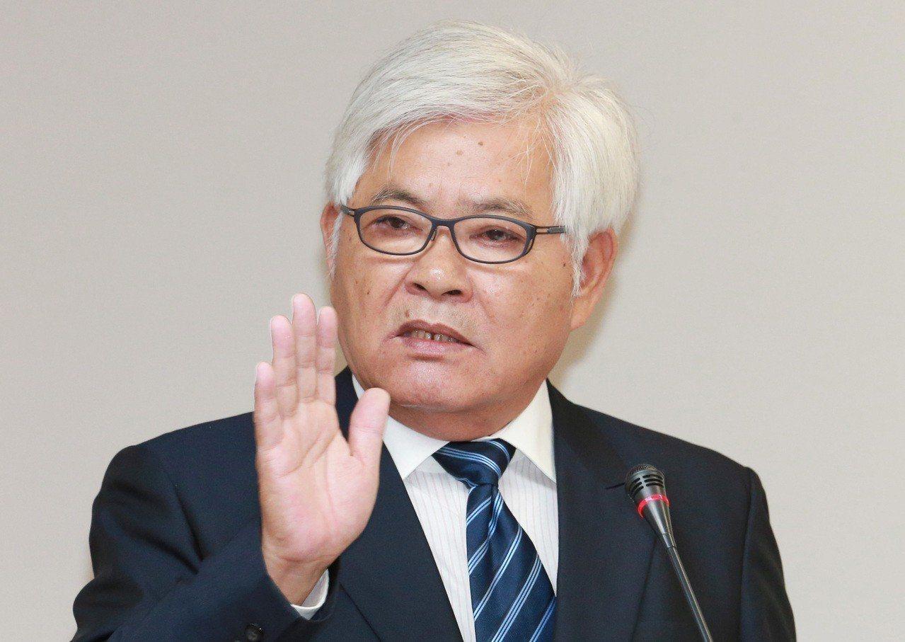 雲林縣前縣長李進勇被提名中選會主委,卻因民進黨籍身分引發外界疑慮。聯合報資料照