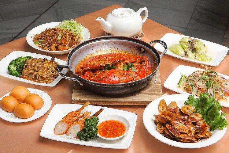 珍寶海鮮推出套餐組合方案,每人550元起,就可享用多款招牌餐點。記者陳睿中/攝影