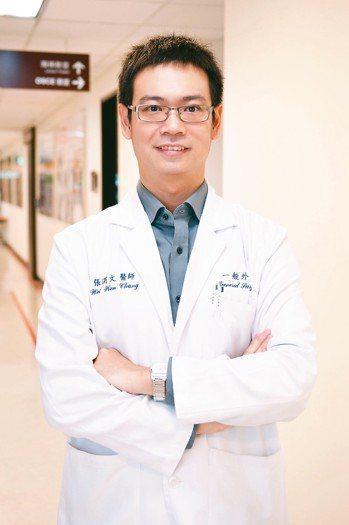 萬芳醫院一般外科主任張渭文。 圖/張渭文醫師提供