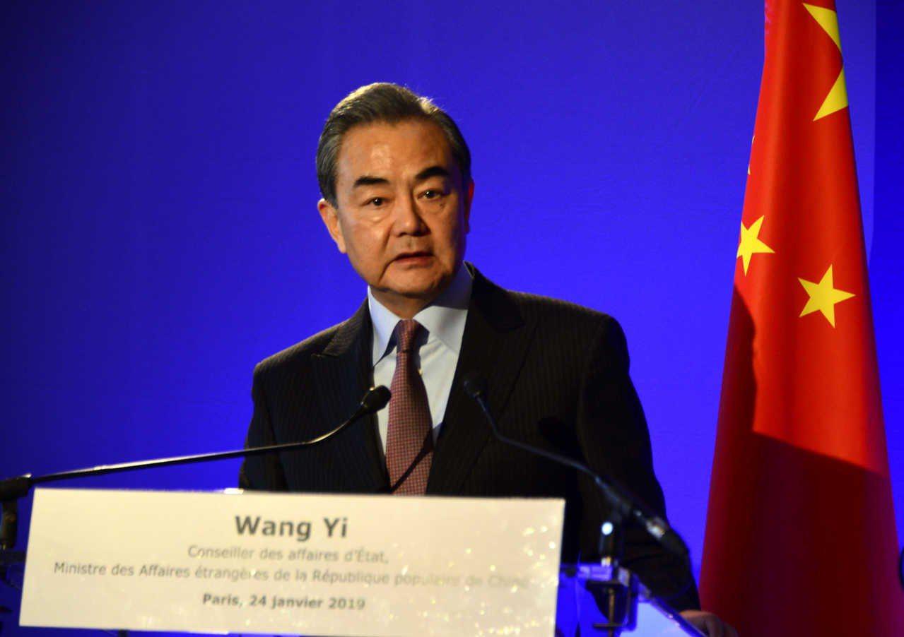 王毅(圖)向古瑞希表示,他對印巴緊張局勢升級深表憂慮,各國主權和領土完整應確實得...