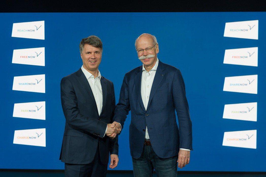 德國兩大汽車業龍頭,日前簽署了一份自動駕駛技術與共享資源的合作契約。 摘自BMW