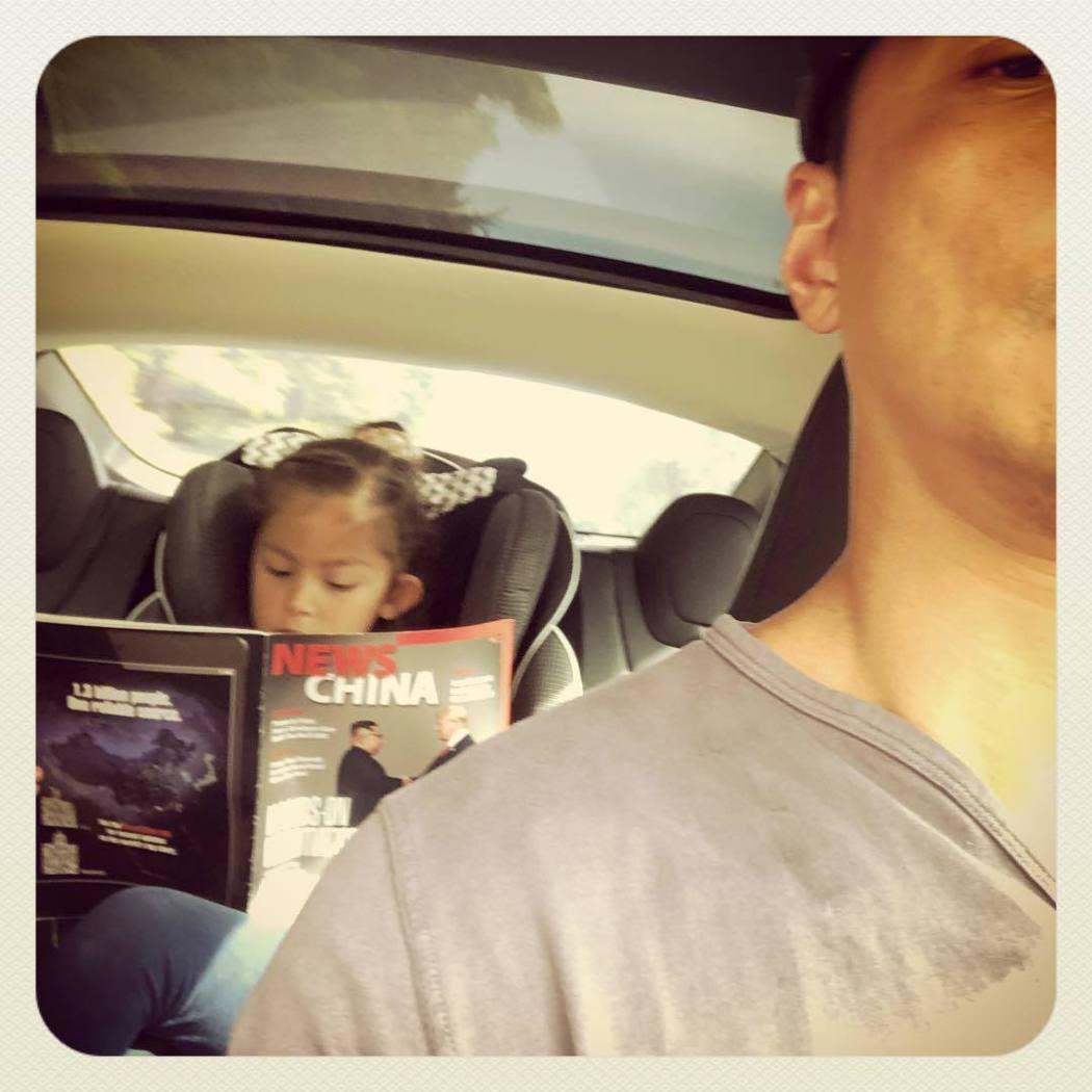 吳彥祖偶爾會分享女兒照片。 圖/擷自吳彥祖IG