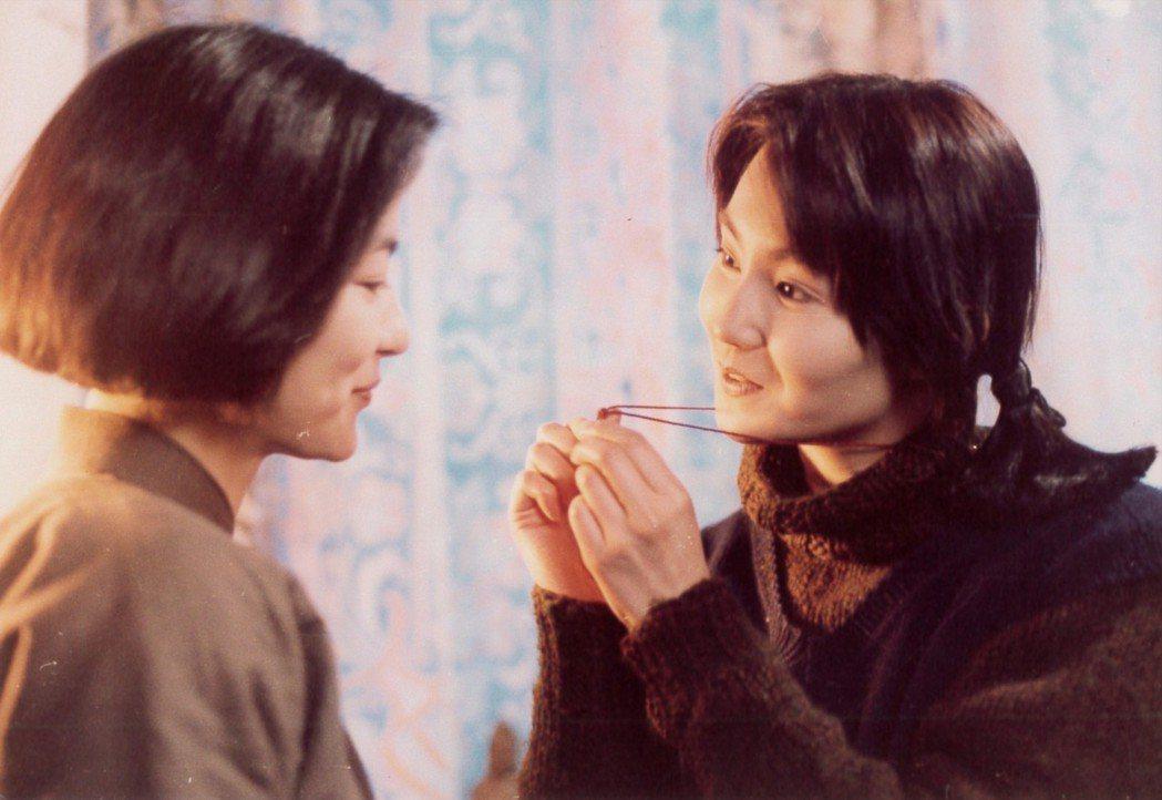 「滾滾紅塵」雙影后飆戲,張曼玉(右)嫉妒林青霞太美。圖/甲上娛樂提供