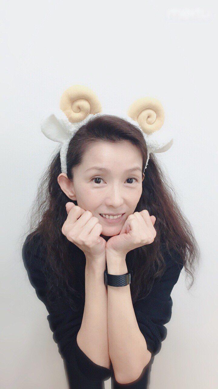 當時人在韓國的葉全真也特地拍了羊角萌照表示對羊角姊妹的支持  圖/葉全真提供