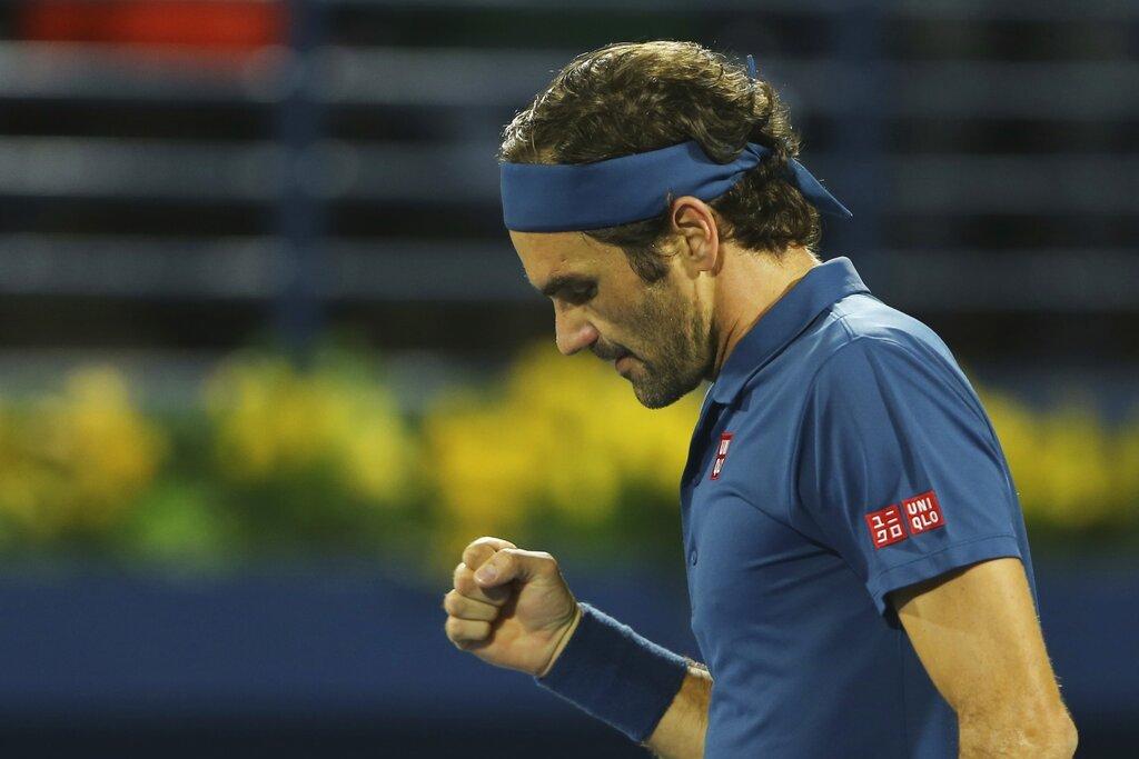 費德勒闖進杜拜男網4強,距離生涯第8座杜拜男網賽冠軍且是職業生涯單打冠軍第100...