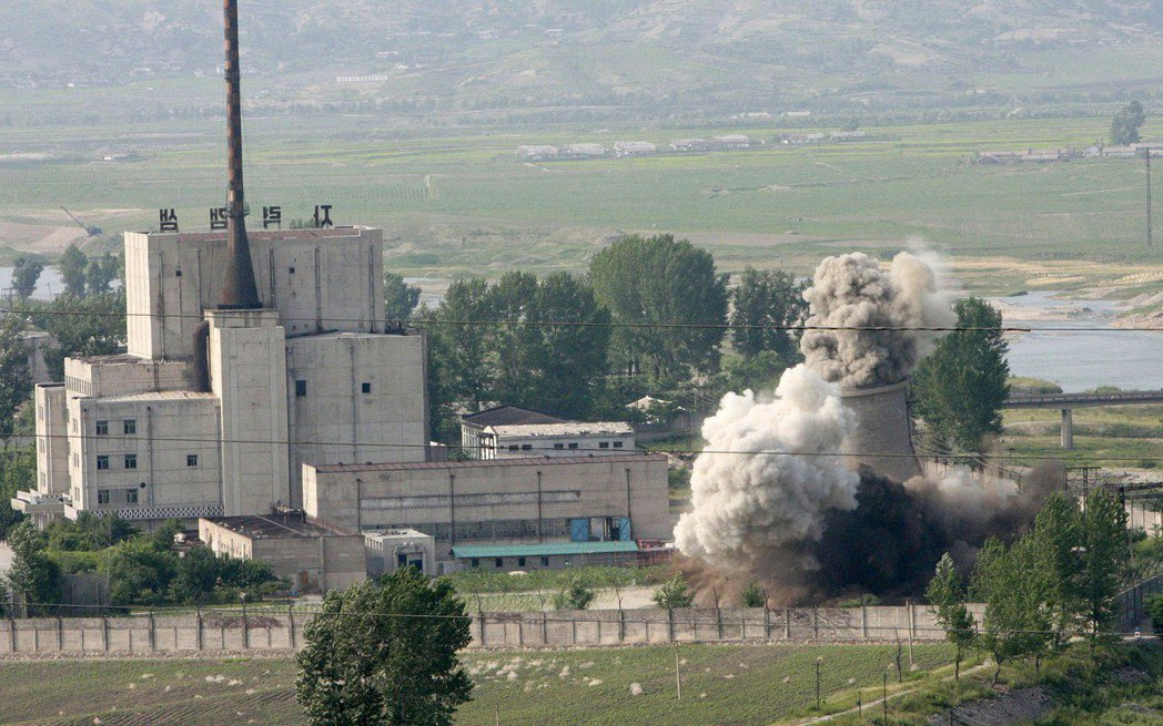 寧邊核科學園區內約有400個用於研究核武的建築物。(美聯社)