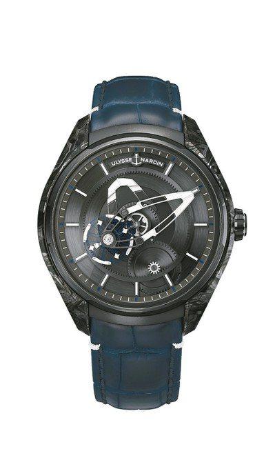 ULYSSE NARDIN推出雅典奇想系列Freak X腕表,碳正離子表殼,約7...