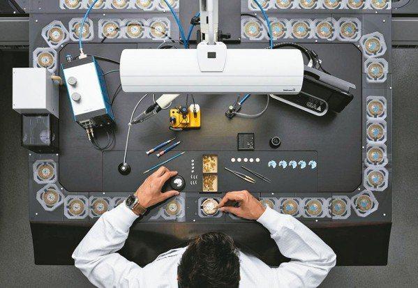 沛納海的表廠,包含機芯製作都有著高度自動化的流程。 圖/各業者提供
