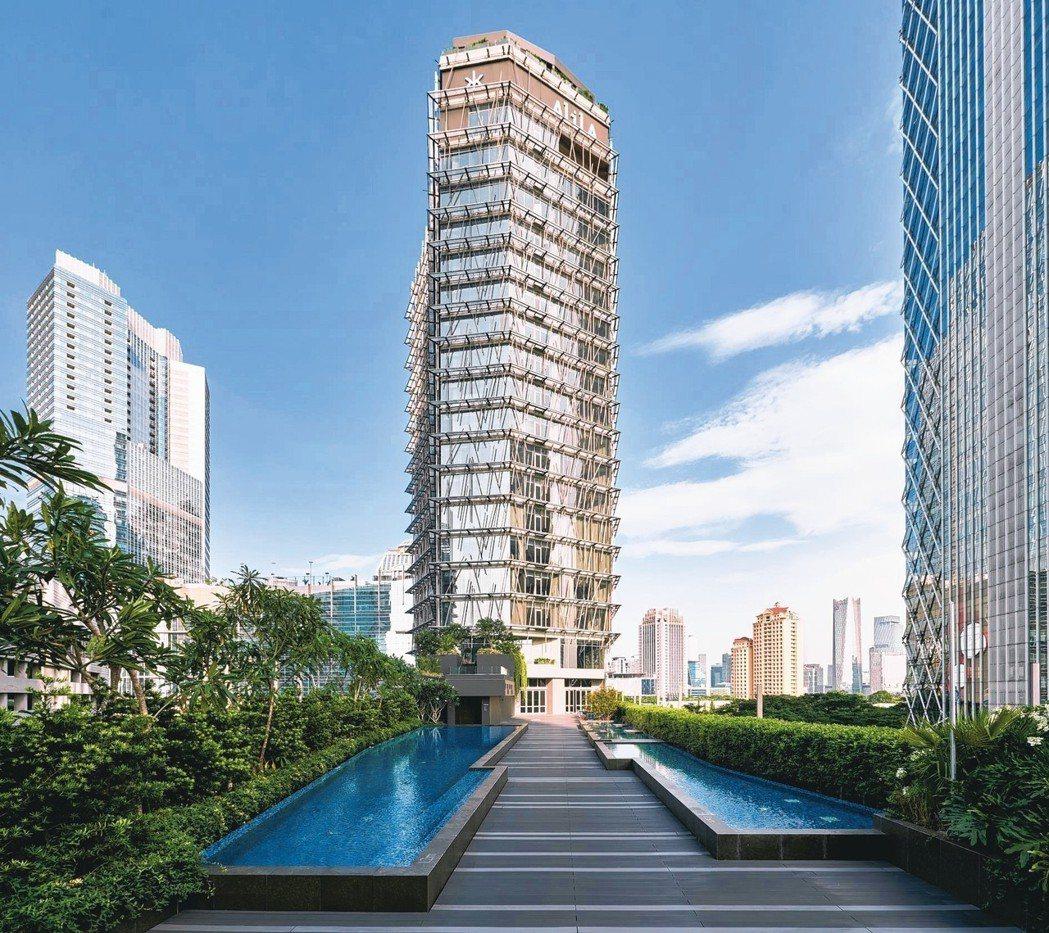 五星級酒店阿麗拉SCBD成為雅加達最新潮流地標。 圖/alilahotels提供