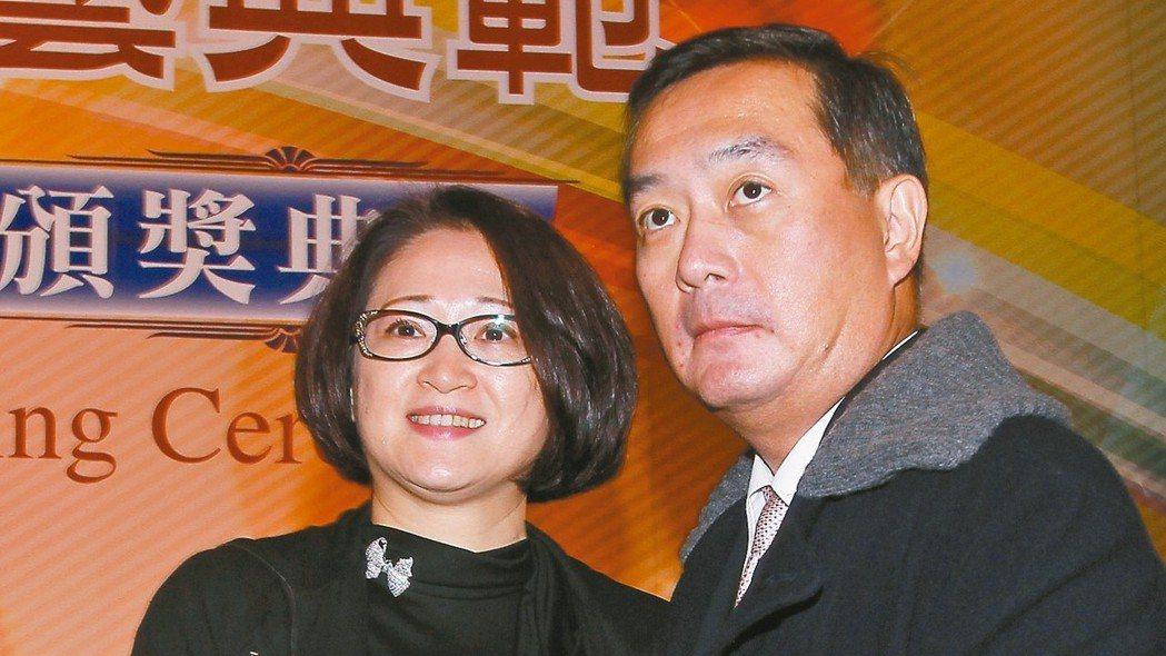 裕隆集團執行長嚴陳莉蓮(左起)、嚴凱泰 報系資料照