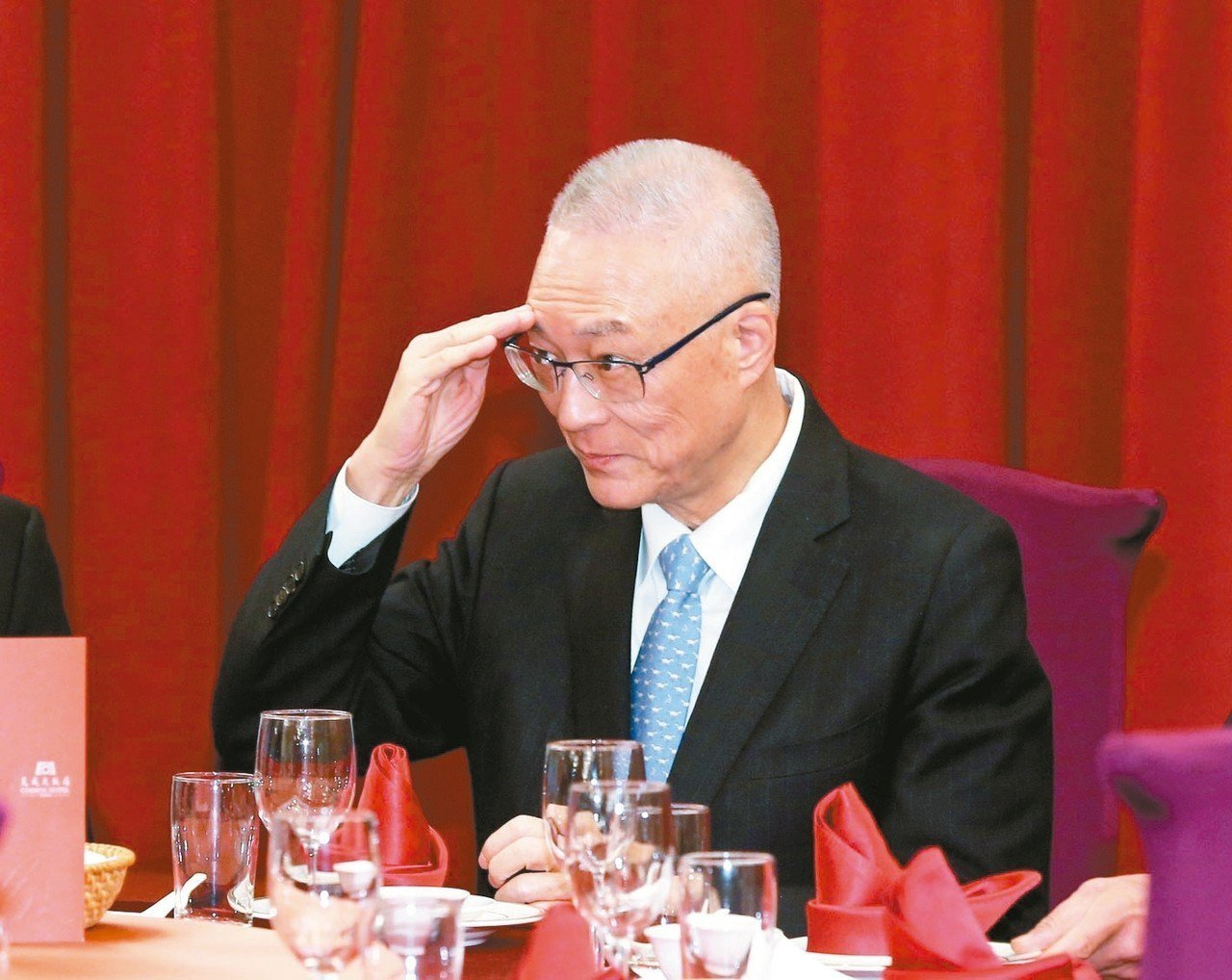 國民黨黨主席吳敦義。 聯合報系資料照/記者林澔一攝影