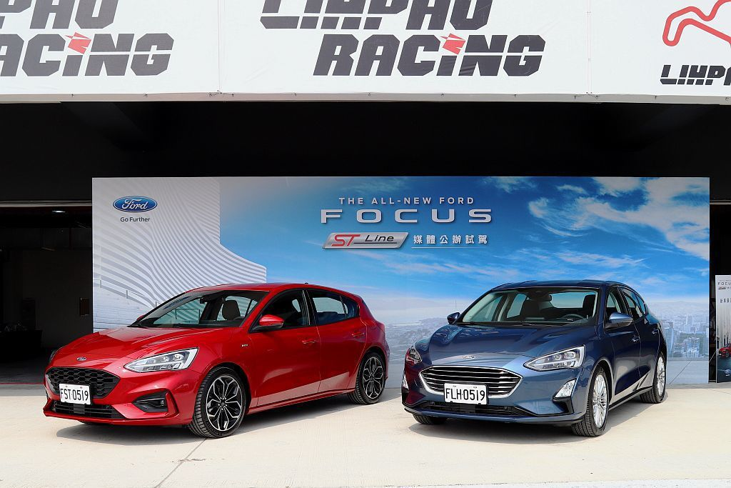 全新第四代Ford Focus在台發表後,五門當中的頂級ST-Line車型,是許多消費者最好奇的「運動」車型。 記者張振群/攝影