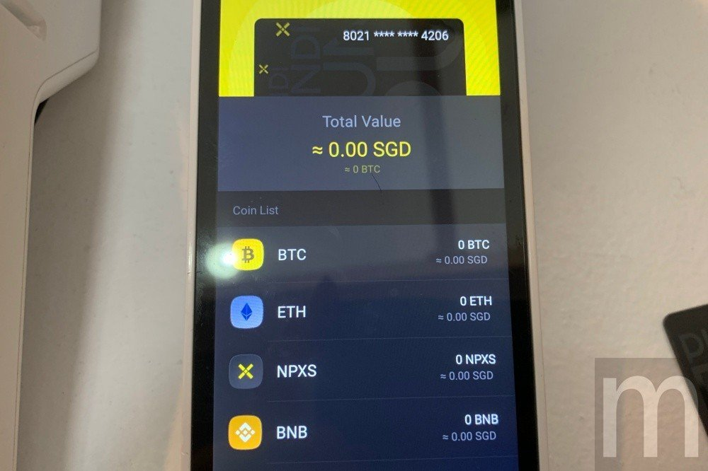 目前Pundi X的POS系統可提供比特幣、以太幣、Pundi X自有代幣NPX...