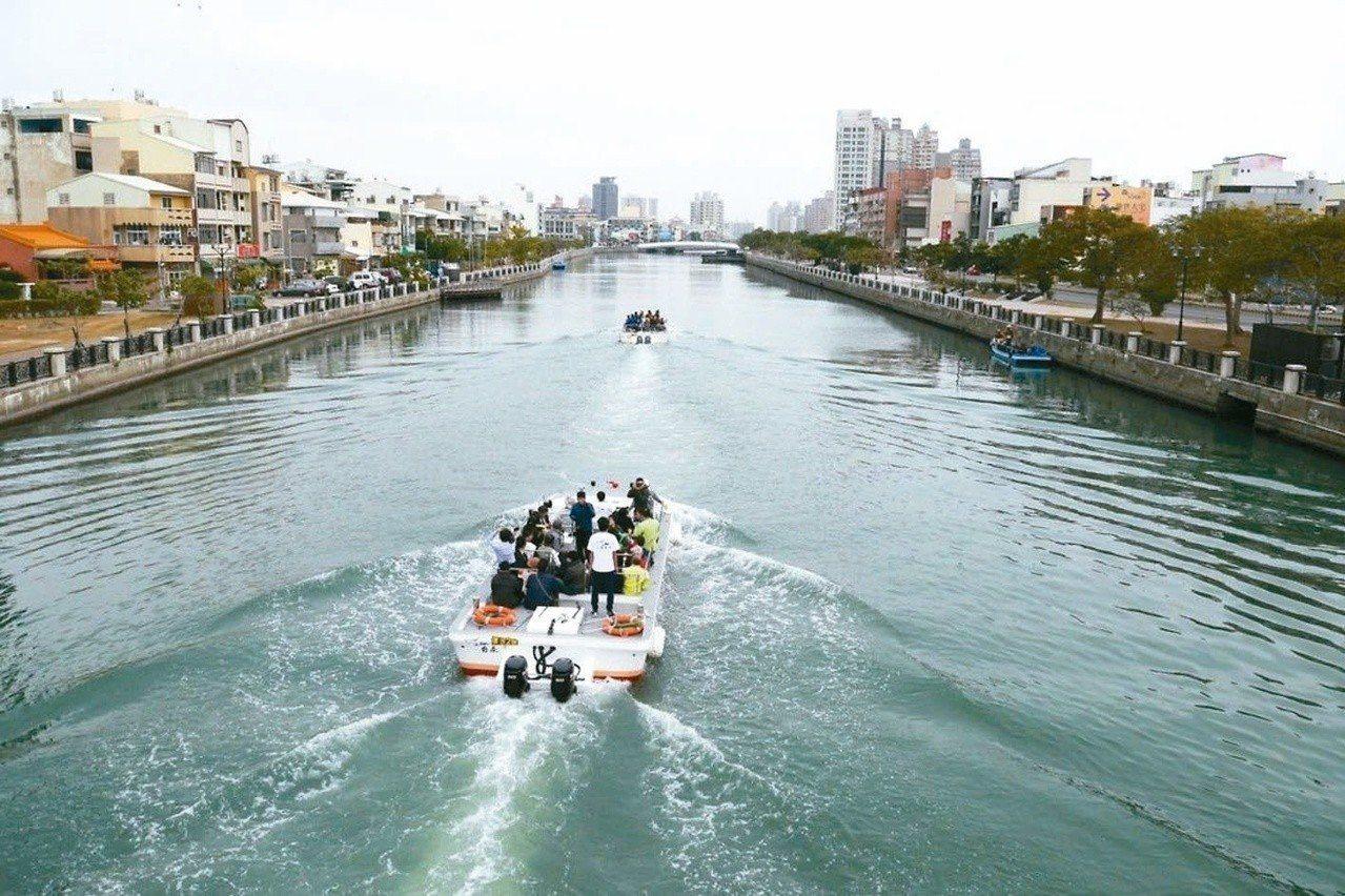 台南運河遊船。圖/報系資料照