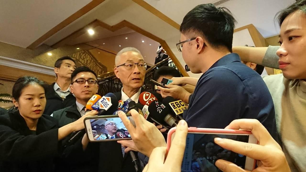 國民黨總統機制提名回歸原本七成民調、三成黨員投票,但黨主席吳敦義受訪仍表示,特殊...