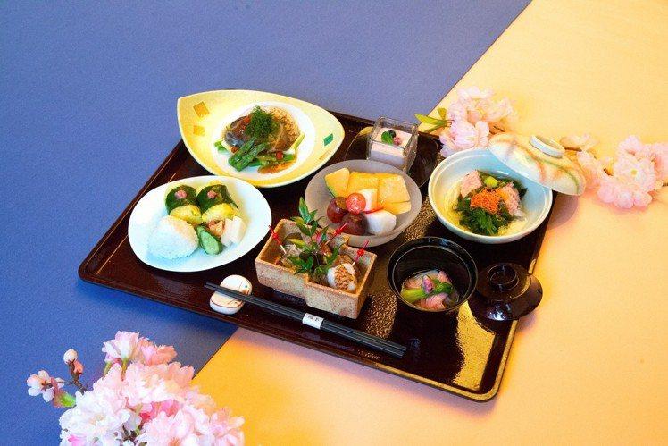 大倉久和「櫻膳」。圖/大倉久和提供