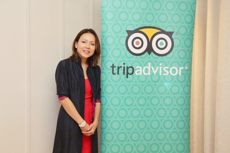TripAdvisor亞太區展示廣告副總裁陳靜怡。圖/TripAdvisor提供
