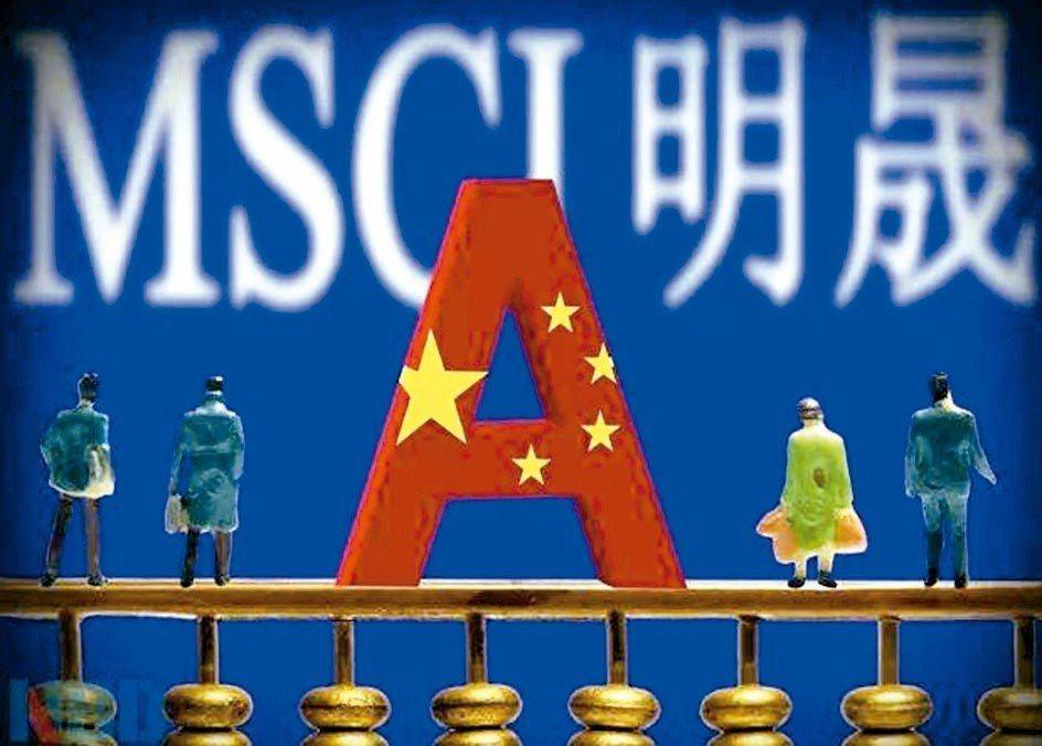MSCI宣布將A股權重從5%大幅提高至20%,陸股及亞股今(4)日皆開高,陸股上...