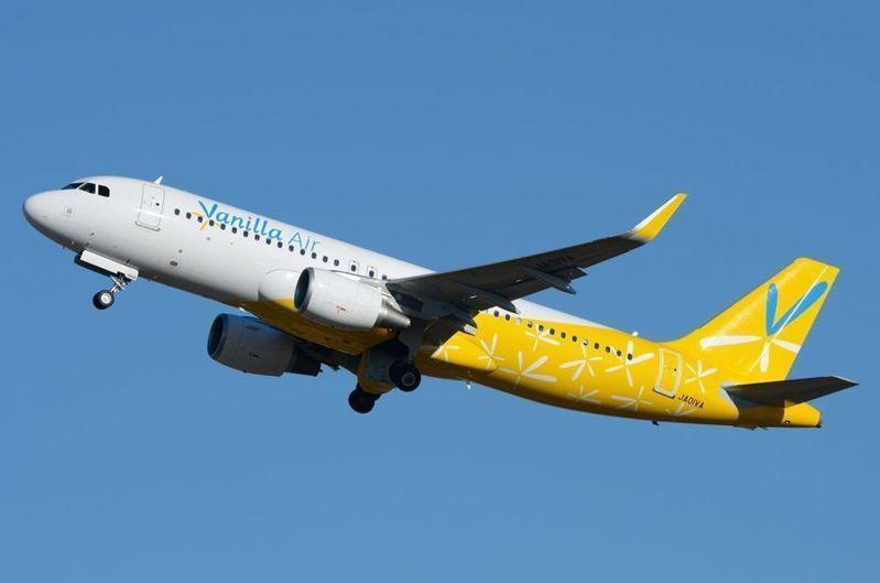 香草航空推出台北-大阪、沖繩單程220元起的優惠。圖/香草航空提供