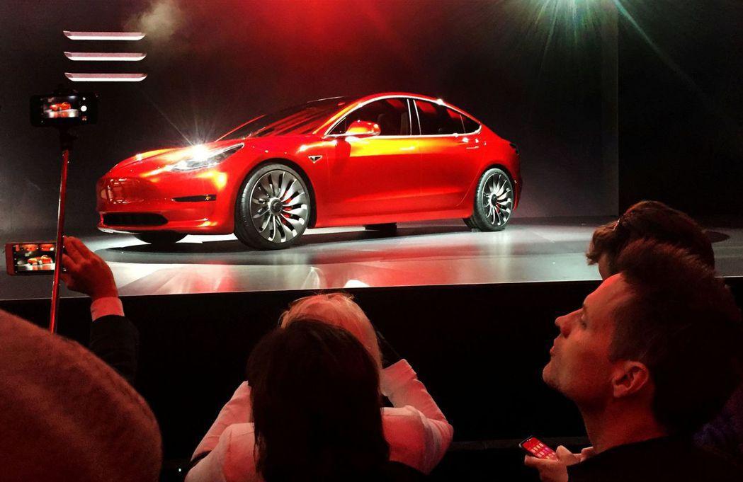 Tesla Model 3上月在挪威狂賣5,315輛。