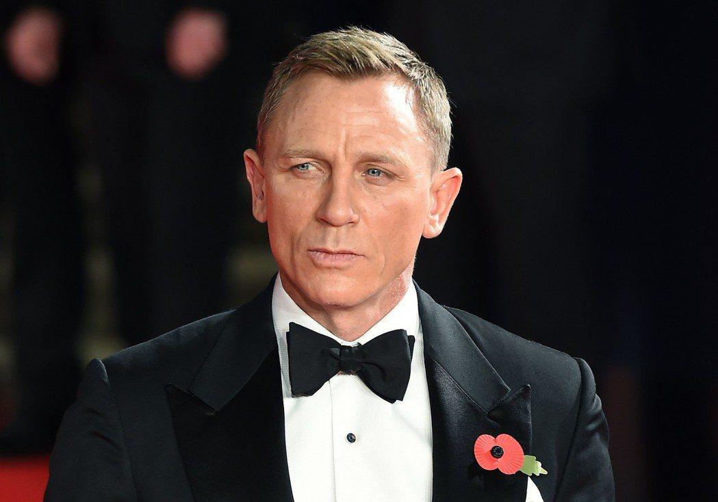 丹尼爾克雷格在最新一集007中有望與新科奧斯卡影帝對決。圖/歐新社資料照片