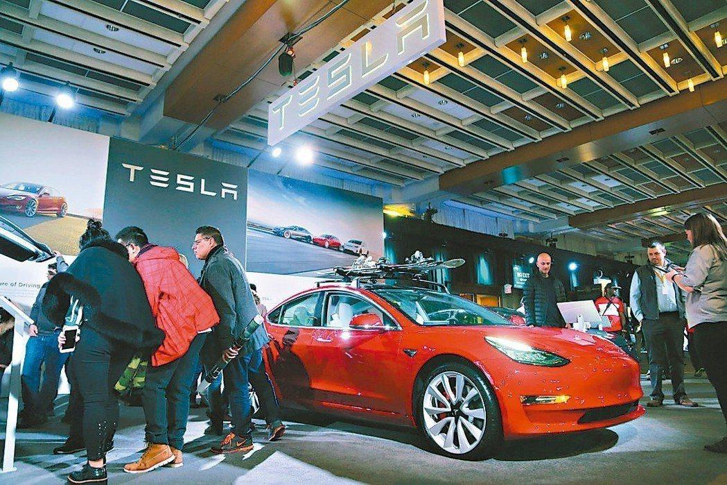 特斯拉平價Model 3在美國即日起接受訂單。 路透