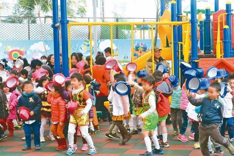 教育部去年推出準公共化幼兒園,卻傳出有業者抱怨,補助款遲遲未下來,可能要借錢辦學。圖為情境照片,與新聞事件無關。 圖/聯合報系資料照片